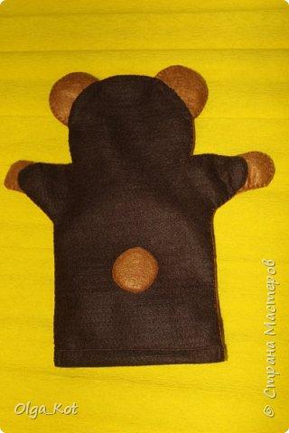"""""""Миша"""" рукавичка для кукольного театра фото 3"""
