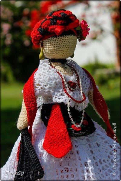 Кукла в национальном костюме жительницы города Веракрус, Мексика. фото 4