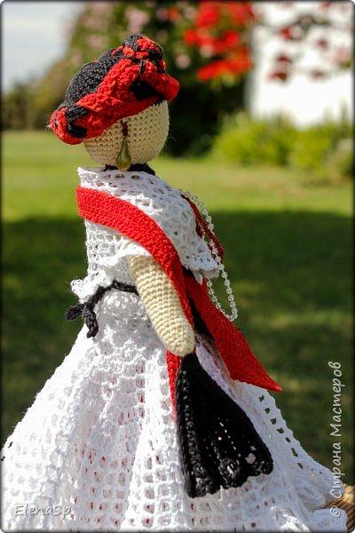 Кукла в национальном костюме жительницы города Веракрус, Мексика. фото 5