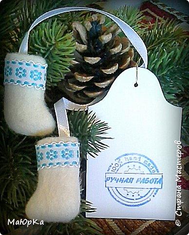 Сувенирные валенки и варежки - маленький, тёплый подарок родным, друзьям, знакомым в новогодние праздники. фото 3