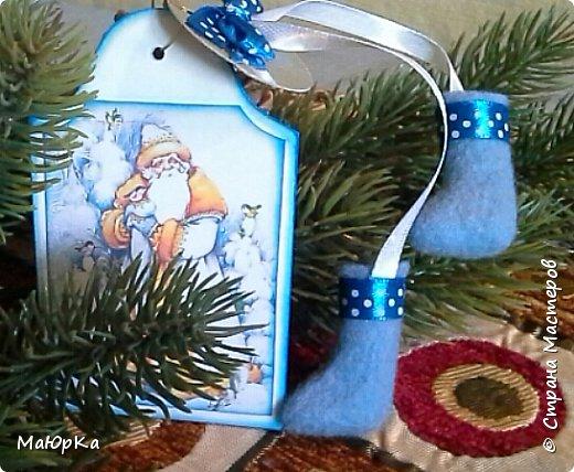 Сувенирные валенки и варежки - маленький, тёплый подарок родным, друзьям, знакомым в новогодние праздники. фото 7
