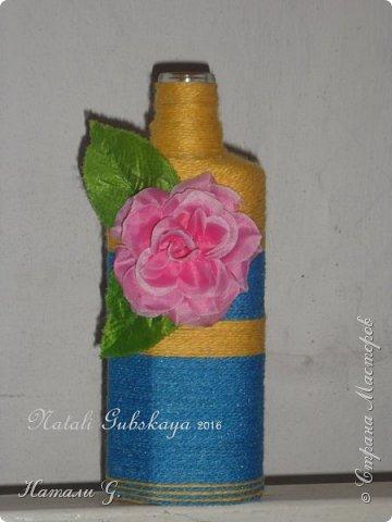 Декор бутылок (разные)-6 фото 2