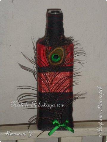 Декор бутылок (разные)-6 фото 1