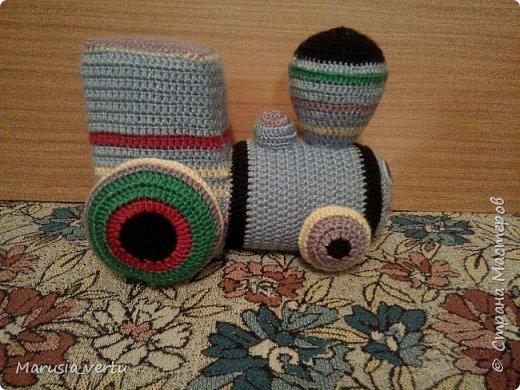Первый опыт вязания игрушки без описания, просто по рисунку.  фото 3