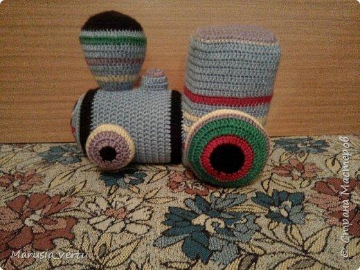 Первый опыт вязания игрушки без описания, просто по рисунку.  фото 4