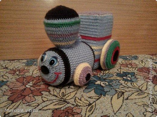 Первый опыт вязания игрушки без описания, просто по рисунку.  фото 1
