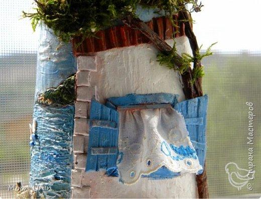 Всем привет!) Ну вот, вся СМ к Новому году готовится, а у меня еще не все летние работы показаны) Начну, пожалуй, с самой летней работы, с рыбацкого домика у моря.   фото 10