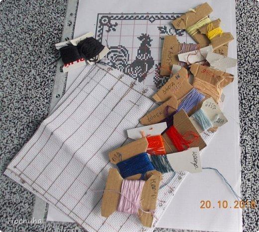 Накопилось много остатков ниточек и канвы.От размеров кусочков канвы зависит и размеры игольниц. фото 1