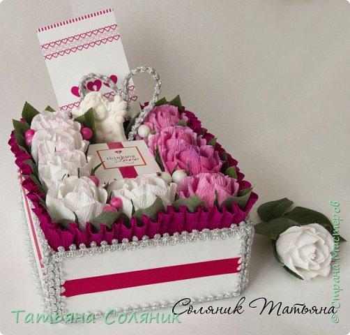 Сердце на свадьбу. Коробка своя.  фото 3