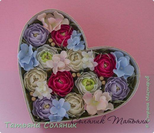 Сердце на свадьбу. Коробка своя.  фото 1