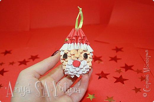 Привет) Скоро новый год. И, думаю, каждый хочет подарить своим близким что-то уникальное и красивое. В этом видеоуроке я расскажу и покажу вам, как сделать эту ёлочную игрушку техникой модульное оригами. Чтобы посмотреть урок, спуститесь чуть ниже по странице:) фото 1
