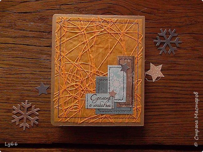 Здравствуйте, мои хорошие! Покажу сегодня порцию новогодних открыточек - решила в этом году подготовиться пораньше))) Много рассказывать не буду - лучше покажу))) фото 10