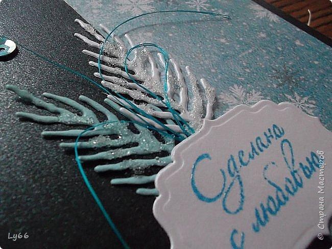 Здравствуйте, мои хорошие! Покажу сегодня порцию новогодних открыточек - решила в этом году подготовиться пораньше))) Много рассказывать не буду - лучше покажу))) фото 6