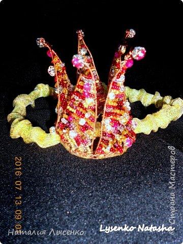 Корона для юной принцессы на 1 годик.  фото 2