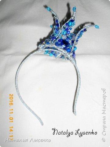 Корона для юной принцессы на 1 годик.  фото 3