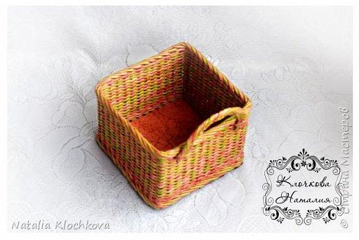 Всем привет! У меня сегодня приправницы, ну, или небольшие коробочки для мелочей. Фотографий будет много, как всегда:) Коробочка №1. Размер 22х13х11 см. Цвет  - колер Лакра салатовый, коричневый - колер Снежка темно-коричневый. фото 14