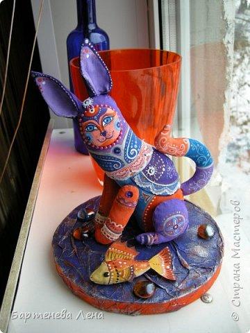 Очередная текстильная кукла. Ткань, ладолл, роспись акрилом, бусины, кружево. фото 3
