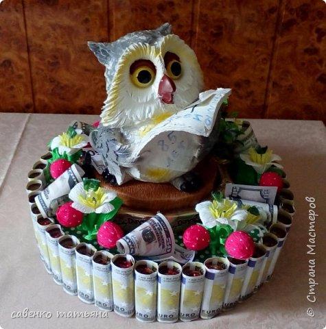 """сладкий подарок """"Прязрявляю с днем рожденя...."""" фото 1"""