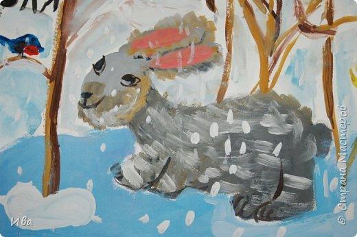 Образ зайца в различных образах рисовали с детьми с помощью графических материалов. Использовали фломастеры, маркеры , масляные мелки. фото 12