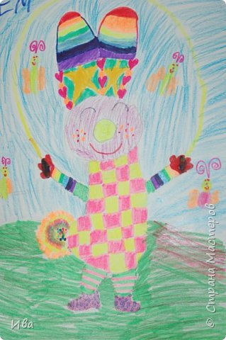 Образ зайца в различных образах рисовали с детьми с помощью графических материалов. Использовали фломастеры, маркеры , масляные мелки. фото 2