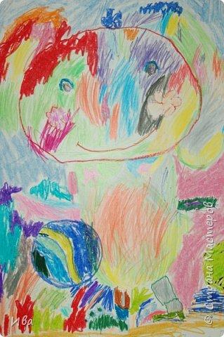 Образ зайца в различных образах рисовали с детьми с помощью графических материалов. Использовали фломастеры, маркеры , масляные мелки. фото 11
