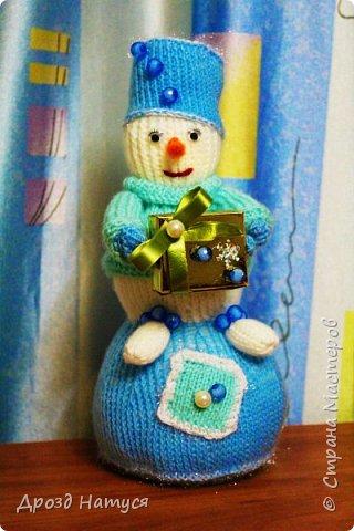 Снеговичок связан по МК Анастасии Зяблицкой. фото 1