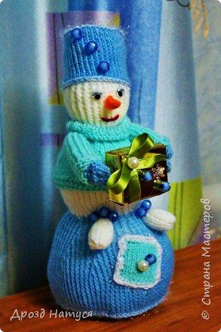 Снеговичок связан по МК Анастасии Зяблицкой. фото 2