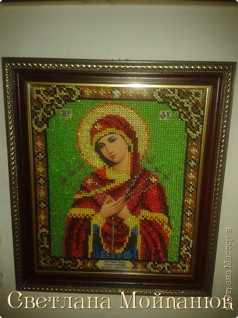 Иконы бисером. фото 11