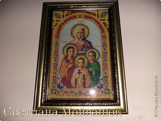 Иконы бисером. фото 6