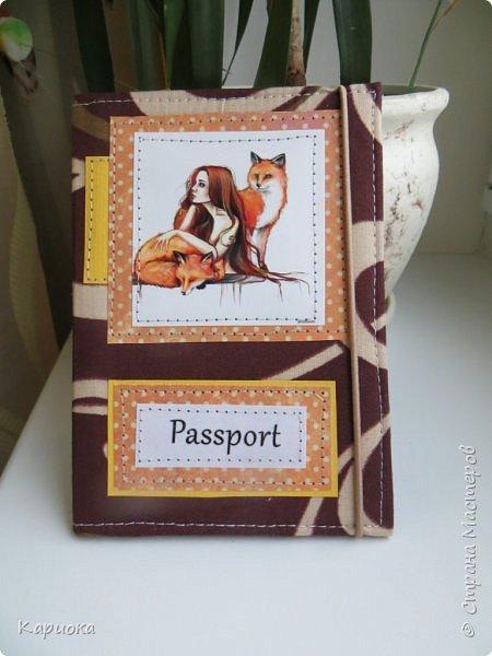 Здравствуйте! Сегодня я к вам с обложечками. Впереди праздники - елки елками, а сувенирчики никто не отменял. Вот и получились обложки на паспорт.   Изначально  мне она не нравилась - а  в итоге наверно самая любимая получилась. фото 1