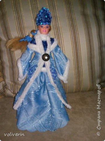 Здравствуйте, пополнение гардероба наших с дочей куколок к Новому году фото 2