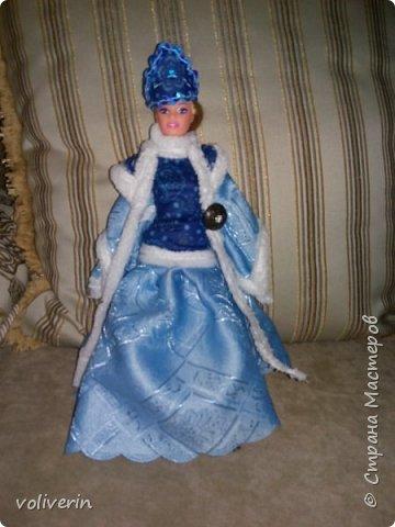 Здравствуйте, пополнение гардероба наших с дочей куколок к Новому году фото 3