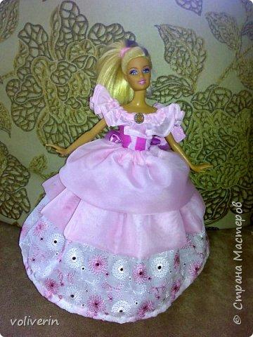 Здравствуйте, пополнение гардероба наших с дочей куколок к Новому году фото 9