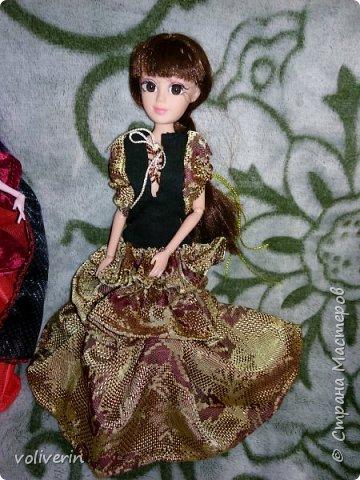 Здравствуйте, пополнение гардероба наших с дочей куколок к Новому году фото 12
