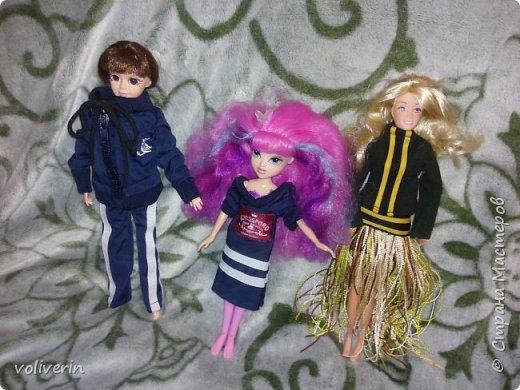 Здравствуйте, пополнение гардероба наших с дочей куколок к Новому году фото 15