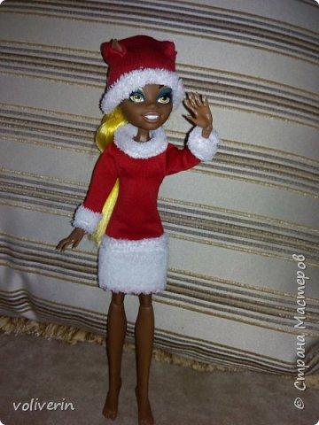 Здравствуйте, пополнение гардероба наших с дочей куколок к Новому году фото 22