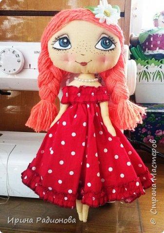 """Представляю вашему вниманию очередную порцию наших кукол, которые мы сшили с девочками на занятиях в мастерской """"Сувенир!.  фото 2"""