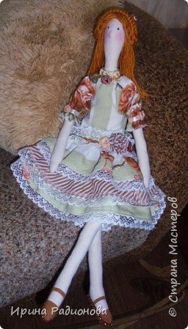 """Представляю вашему вниманию очередную порцию наших кукол, которые мы сшили с девочками на занятиях в мастерской """"Сувенир!.  фото 4"""