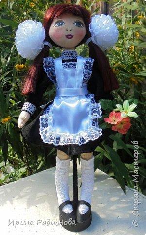"""Представляю вашему вниманию очередную порцию наших кукол, которые мы сшили с девочками на занятиях в мастерской """"Сувенир!.  фото 3"""