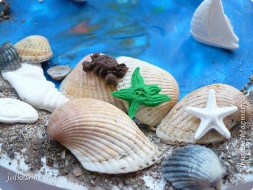 """Поделка на тему """"Мое любимое море"""" фото 3"""