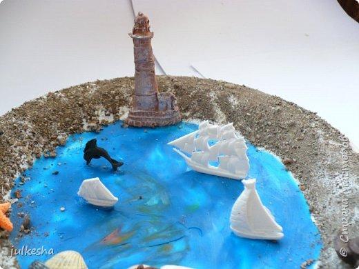 """Поделка на тему """"Мое любимое море"""" фото 2"""