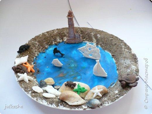 """Поделка на тему """"Мое любимое море"""" фото 1"""