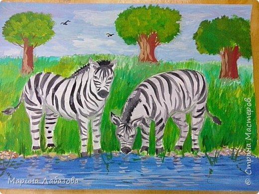 """Рисунки детей на тему """"Животные"""" фото 3"""