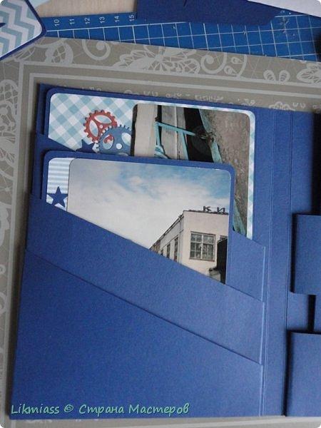 Кто про что, а я про альбомы. Столько времени потеряла на открытки и прочие ненужности. Нет, открытки, конечно, имеют место быть, но для себя я поняла. что это между делом, а дело-это семейный архив в приличном виде, чтобы потом ни у кого рука не поднялась выкинуть. В общем, вот к такому выводу я пришла. Покажу вам, как делать каскад карманов для странички, или, как у меня, для фото папки фото 36