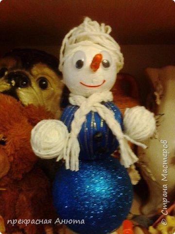 Новогодняя фантазия! Снеговики на прогулки  фото 7
