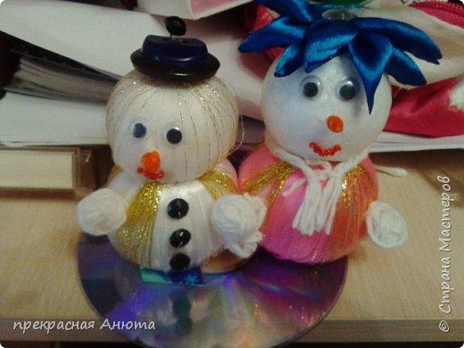 Новогодняя фантазия! Снеговики на прогулки  фото 8