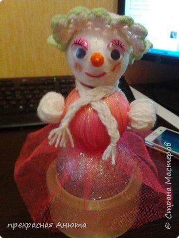 Новогодняя фантазия! Снеговики на прогулки  фото 9