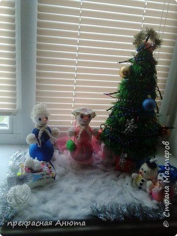 Новогодняя фантазия! Снеговики на прогулки  фото 2