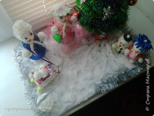 Новогодняя фантазия! Снеговики на прогулки  фото 3