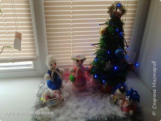 Новогодняя фантазия! Снеговики на прогулки  фото 4